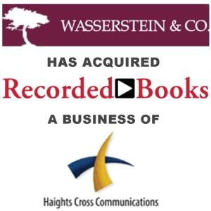 Wasserstein & Co  Acquires Recorded Books LLC From Haights